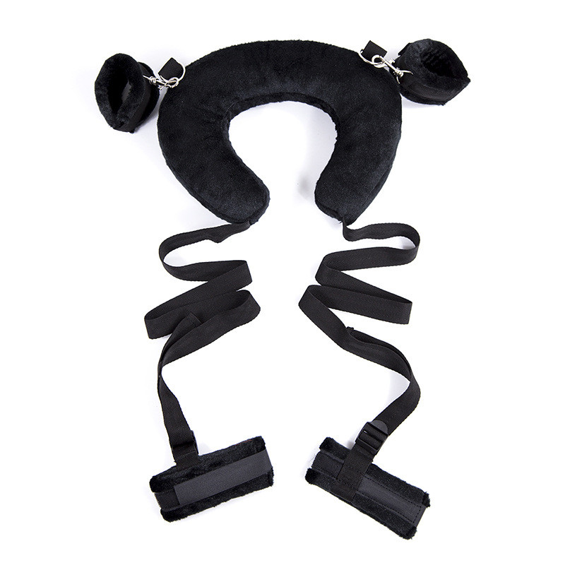 New Bdsm Bondage Set Toys Women's Erotic Sexy Lingerie Handcuffs For Sex Games Toys For Adults Novelty Exotic Accessories