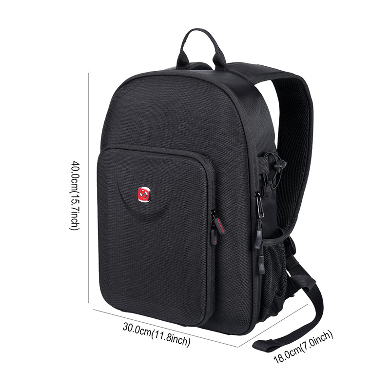Smatree Backpack Compatible for DJI Mavic 2 Pro/Mavic 2 Zoom/GoPro Hero 2018/ Hero 7/6/5/4/3+/3