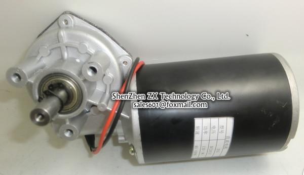 Manufacturers 24V 120W worm wheel geared motors 76ZYJ-G 120W DC gear motor with a free Reversing switch 40 rpm 250w 90mm 24v dc motors ratio 18 1 micro dc gear motors 4 pcs in a parcel