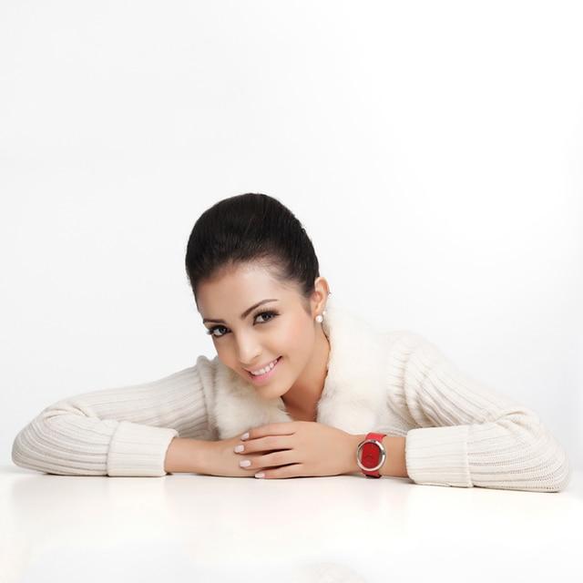 Women Watch DOM Brand luxury Fashion Casual Unique Lady Wrist watches leather quartz waterproof Stylish 3