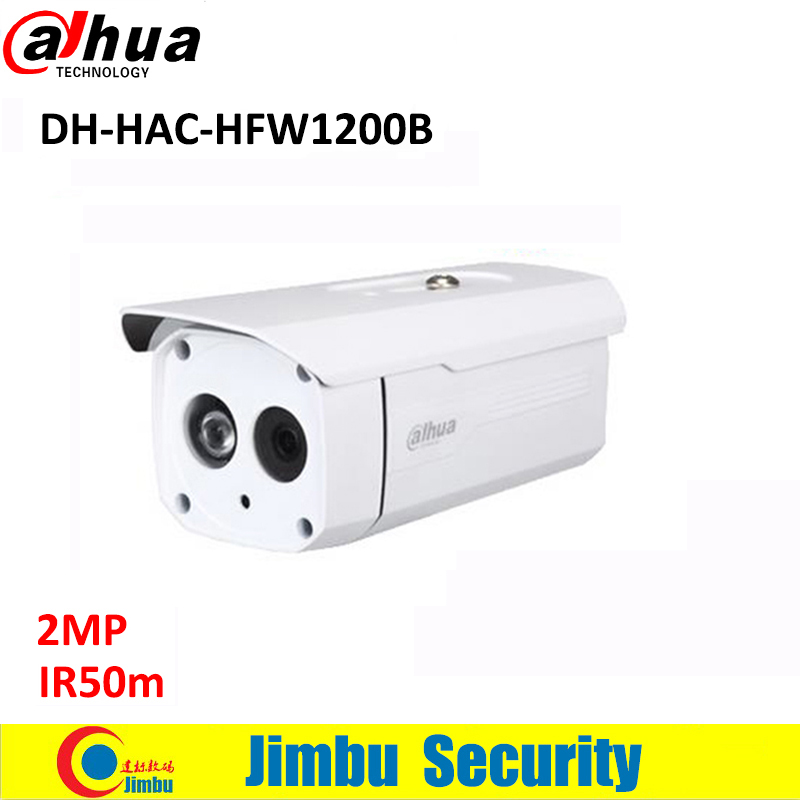 DAHUA HDCVI 2MP Bullet Camera CMOS 1080P IR 50M IP66 HAC-HFW1200B security camera DC12V 1920(H)x1080(V) dahua hdcvi 1080p bullet camera 1 2 72megapixel cmos 1080p ir 80m ip67 hac hfw1200d security camera dh hac hfw1200d camera