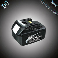 New Rechargeable Lithium Ion 4000mAh Replacement Power Tool Battery For Makita 18V BL1830 BL1840 LXT400 194230