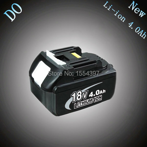4000mAh New Rechargeable Lithium Ion Replacement Power Tool Battery for Makita 18V BL1830 BL1840 LXT400 BL1815 194230-4 194205-3 free shipping new replacement power tool battery plastic case and hardwares for makita 18v bl1830 lithium