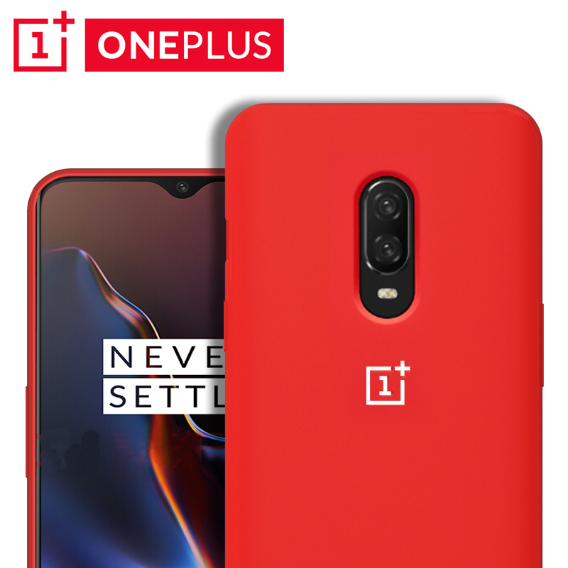 Oneplus 7 Pro Case Original Official Silicone Soft Ultra Thin Shockproof Full Protective Cover Oneplus One Plus 6 6T 7 Pro Case