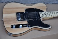 Hot Sale 53 version tele guitar,elm body maple neck high quality TL guitar,21 frets elm electric guitar free shipping