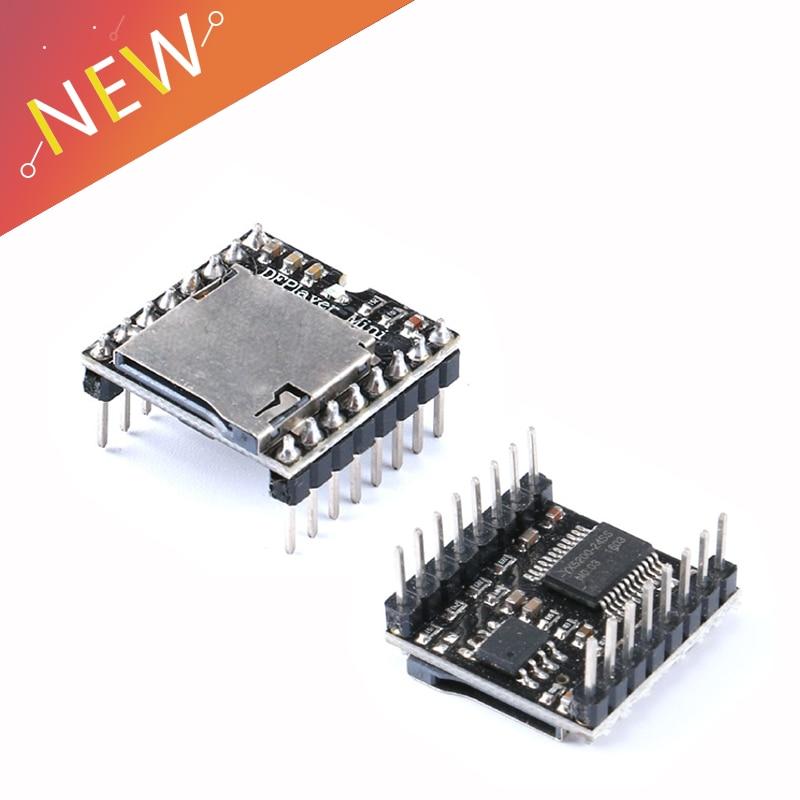 TF Card U Disk Mini MP3 Player Audio Voice Module Board For Arduino DFPlay Wholesale DFPlayer