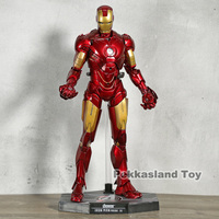Hot Toys Iron Man MK 4 Mark IV PVC Action Figure Collectible Model Toy