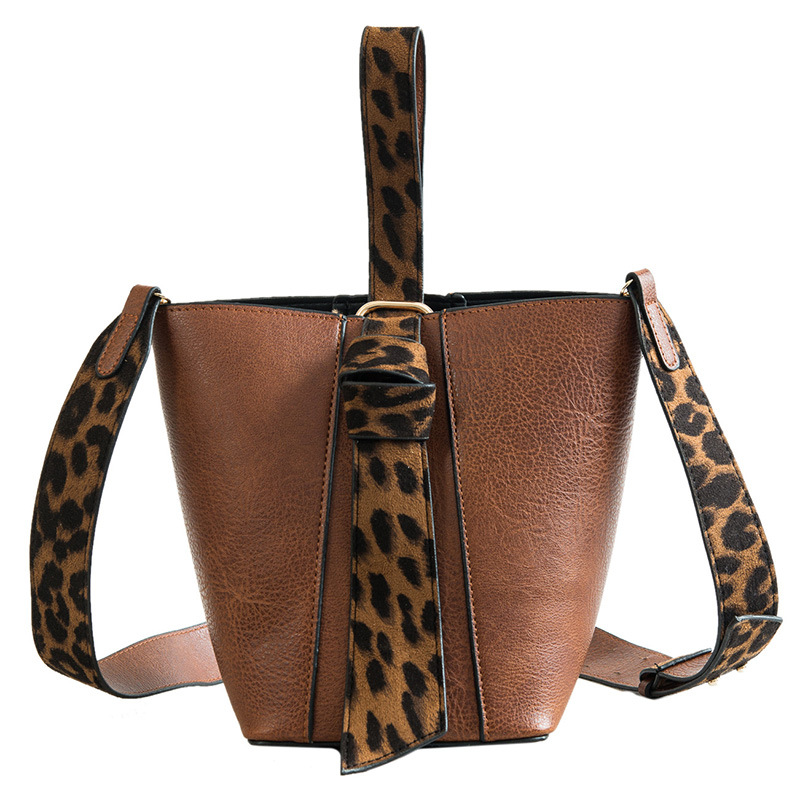 2018 Leather Ladies Top-handle Handbag bags for women luxury handbags women bags designer Brand original design Leopard Print