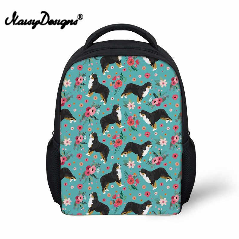 Милая собака печать школьные сумки для девочек Kawaii детский сад рюкзак сумка Дети школьный Mochila Escolar
