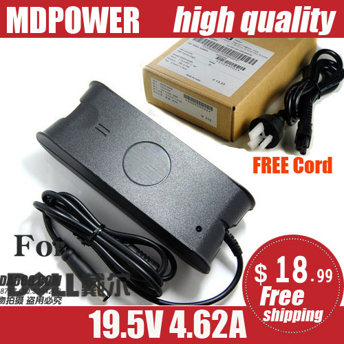 MDPOWER For <font><b>DELL</b></font> <font><b>Studio</b></font> <font><b>1535</b></font> 1536 1537 Notebook laptop supply power AC adapter charger cord 19.5V 4.62A 90W image