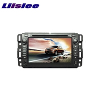 For GMC Yukon Tahoe Acadia 2007 2012 LiisLee Car Multimedia TV DVD GPS Audio Hi Fi