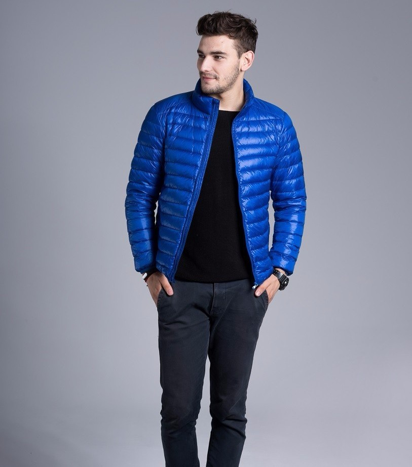 Men casual warm Jackets solid thin breathable Winter Jacket Mens outwear Coat Lightweight parka Plus size XXXL hombre jaqueta 14