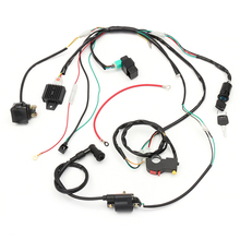 Complete Electric Start Engine Wiring Harness Loom  Quad Bike