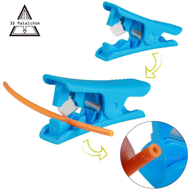 3D Máy In Di Động Mini Dây Vũ Nữ Thoát Y Dao PTFE Dao Cắt Ống Cho Teflonto Ống Hotend Prusa I3 Mk8 Ender 3 Máy Đùn bộ Dụng Cụ