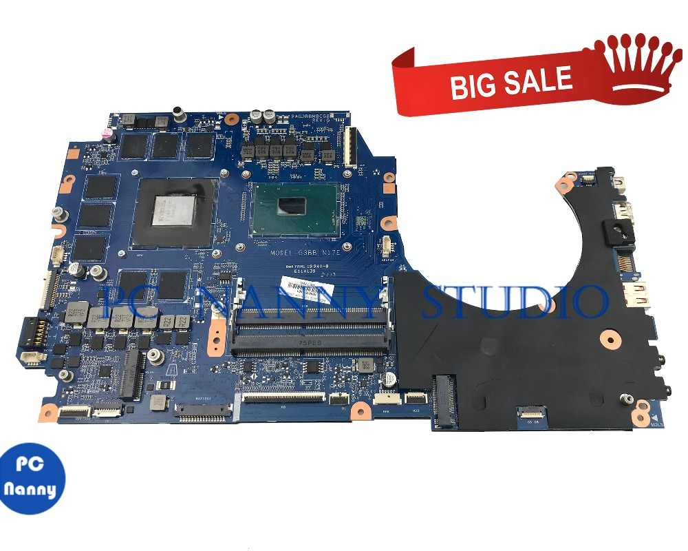 PCNANNY FOR HP OMEN 17 w 17 a laptop motherboard 9295151 601