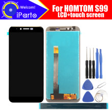5.5 inch HOMTOM S99 LCD Display+Touch Screen Digitizer Assembly 100% Original New LCD+Touch Digitizer for S99+Tools(China)