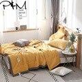 Papa & Mima однотонное стеганое летнее одеяло без наволочек  Двухслойное одеяло из полиэфирной ткани с полной королевой