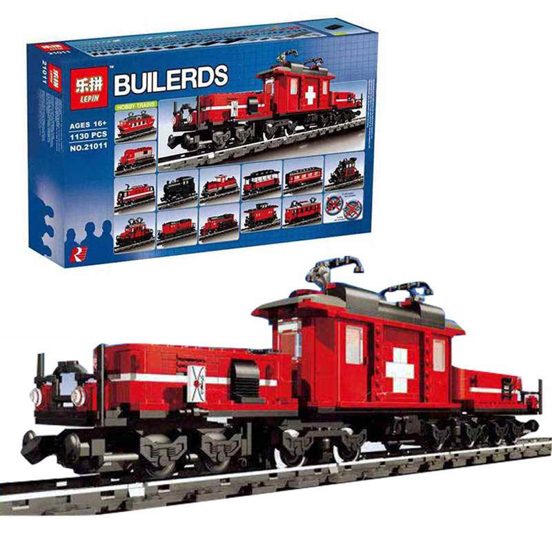 1130Pcs Lepin 21011 Technical Series The Medical Changing Train Building Blocks Bricks Set Educational Toys for Children 10183 lepin 02020 965pcs city series the new police station set children educational building blocks bricks toys model for gift 60141