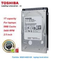 Original Toshiba 1TB Laptop Hard Drive Disk MQ01ABD100 SATA/300 5400RPM 8MB Cache 2.5 Internal Hard Drive for notebook PC