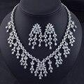 Nuevo diseño de moda de lujo AAA Zirconia cúbico de la borla del pendiente de la joyería, alta calidad del partido / joyería nupcial de la boda
