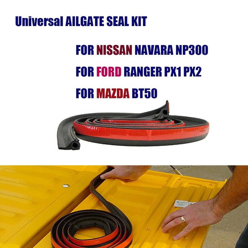 UNIVERSAL TAILGATE SEAL KIT FOR TOYOTA HILUX SR5 SR RUBBER UTE DUST TAIL GATE
