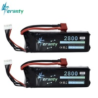 2800mah 14.8V BATTERY RC 4s Lipo Battery 14.8V 30C 803496 4s for FT010 FT011 RC boat RC Helicopter Airplanes Car Quadcopter 2pcs