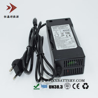 Output 42V 2A Lithium ion EU Plug Chargers for 36V Ebike Electric Bicycle Battery Pack Input 100 240V 1.5A Specification