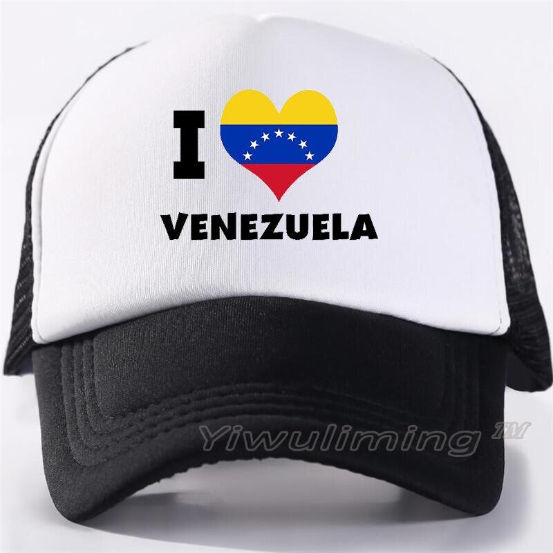 Print Custom   Baseball     Cap   Hip Hop Venezuela Map Home No More Dictatorship Love Fashion Harajuku Women Hat   cap