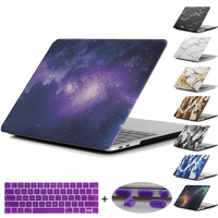 Redlai Starry Sky Marble Camouflage Hard Case Cover For Macbook Air Pro Retina 11 13 15
