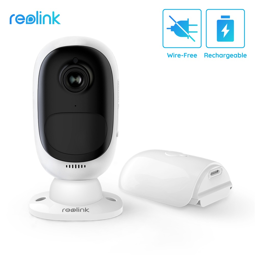 Reolink Argus 2 Full HD 1080P Outdoor Indoor Security IP Camera Rechargeable Battery Powered Starlight Sensor