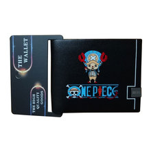 Cartoon Anime One Piece Wallets JP Animation Onepiece Leather Purse Dollar Money Bags Creative Gift for Boy Men Short Wallet