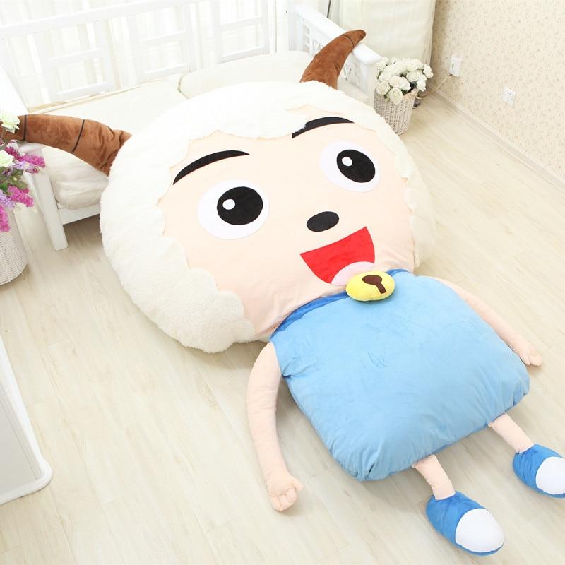 Dorimytrader Kawaii Cartoon Sheep Plush Beanbag Anime Character