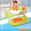 Baby aufblasbare badewanne verdickung große kinder multi zweck badewanne faltbare neugeborenen bad Babywanne Mutter und Kind -
