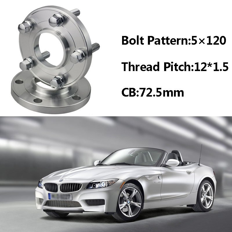 2pcs 5x120 72 5cb Centric Wheel Spacer Hubs M12 1 5 Bolts For Bmw E85 E82 E87 E89 E81 E36 E30 E65 E60 E64 E66 E46 E86 E52
