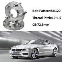 Jinke 2pcs 5x120 72.5CB Centric Wheel Spacer Hubs M12*1.5 Bolts For BMW E85 E82 E87 E89 E81 E36 E30 E65 E60 E64 E66 E46 E86 E52