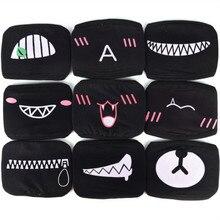 1 шт., хлопковая Пылезащитная маска для лица, маска для вечеринки, аниме, мультфильм Kpop, счастливый медведь, для женщин и мужчин, муфельные маски для рта