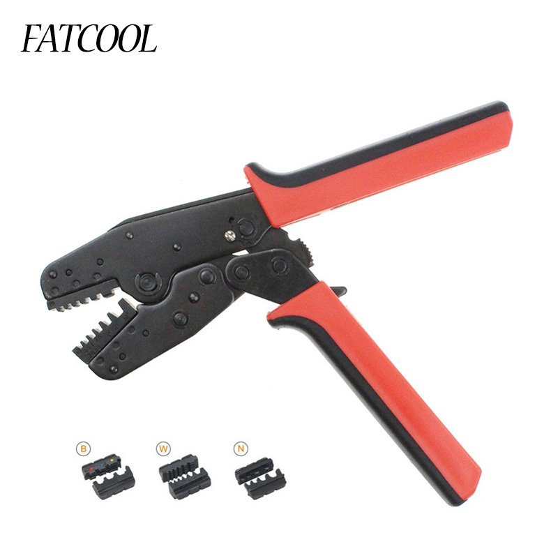 FATCOOL LAS-005 Universal Crimp Of Energy Saving Crimping Pliers With Two Sets Of Dies At Side Side Crimper Tool цена