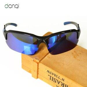 DONQL المستقطبة الصيد النظارات الشمسية الرجال الرياضة الدراجات الإستقطاب عدسة نظارات UV400 الصيد نظارات للرؤية الليلية نظارات المرأة