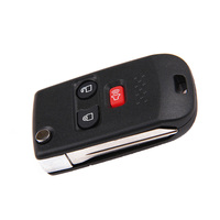 3 Buttons Remote Flip Key Fob Shell Case For Ford Explorer Sport Trac Excursion Mercury Mariner