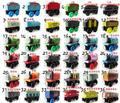 8 unids/lote madera Thomas tren juguetes / madera magnética Thomas And Friends tren / madera juego completo de coches de juguete / Engine tren juguetes