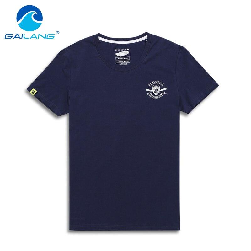 Gailang Brand 2017 Summer Fashion Men T Shirt Cotton Short Sleeved Casual T Shirt Print font