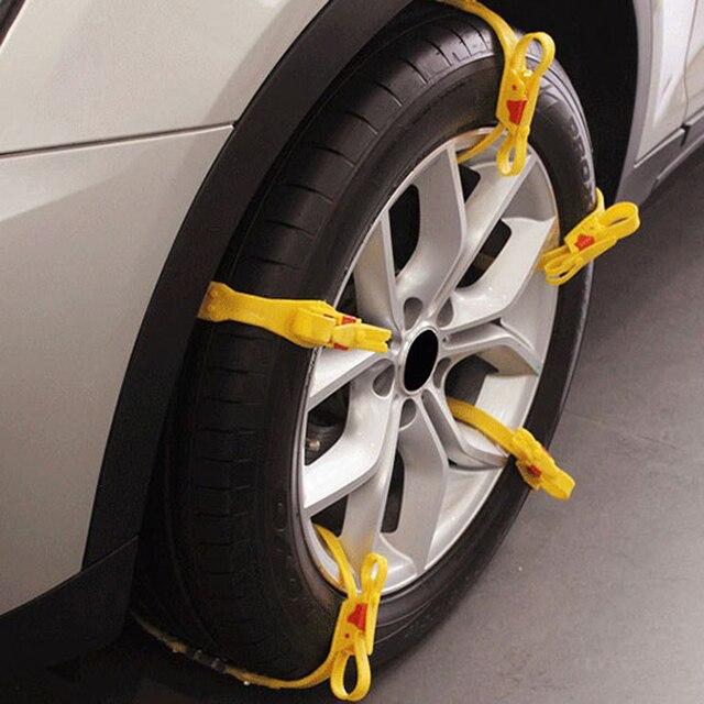 10x Auto Mud Tires Trucks Snow Chain For Car Winter Wheels