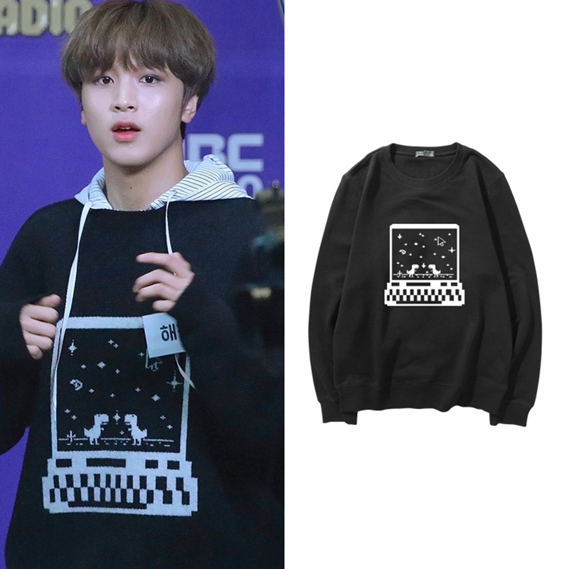 NCT127 DREAM Ins Pullover Sweatshirt Printed Long Sleeve Spring Autumn Causal Top Unisex Sweatshirts