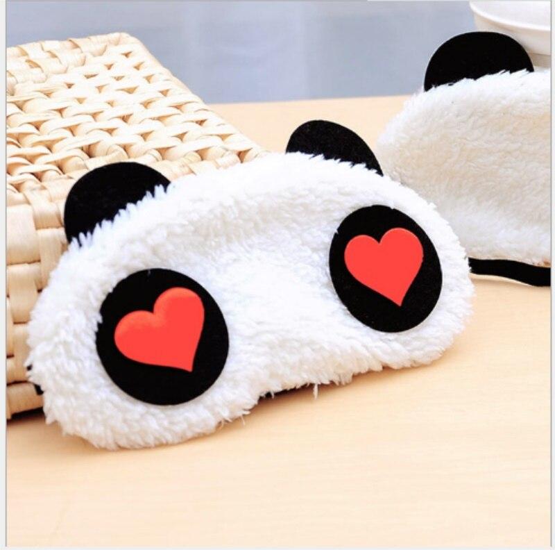 Cute Panda Sleeping Face Eye Mask Blindfold Shadow Traveling Sleep Eye Aid Drop Shipping 4 types