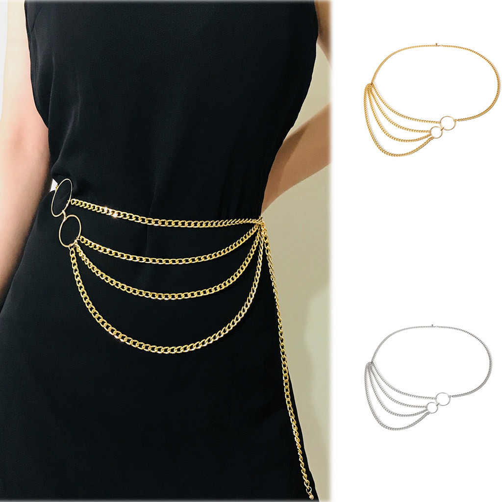 Belt Cinturones Para Mujer Riem Ceinture Femme Belts For  Waistband Chain Decorative Belt Body  Long Tassel Waist Chain Belt Z5