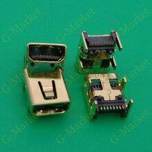 200X 4 DIP foot 8Pin Mini USB Jack Female Socket, mini usb C