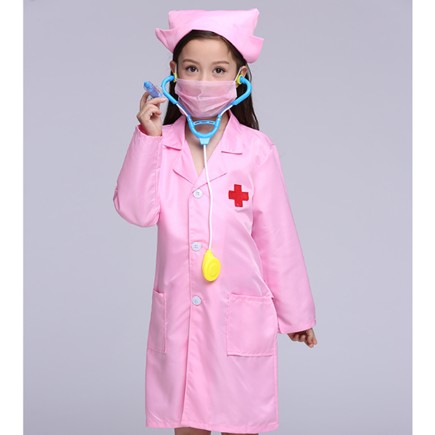 2018 Summer Girls Dress Kids Cosplay Costume Teenager Coats Halloween Nurse Toddler Boys Doctor Role Play Baby Girls Cloth Suit-in Clothing Sets from Mother ...  sc 1 st  AliExpress.com & 2018 Summer Girls Dress Kids Cosplay Costume Teenager Coats ...