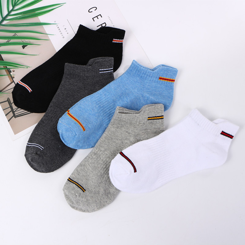 Socks Men's Summer Sports Cotton Boat Socks Fashion Comfortable Sports Men's Socks