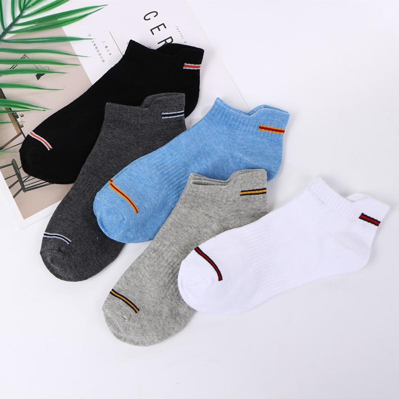 Socks Men's Summer Sports Cotton Boat Socks Fashion Comfortable Sports Men's Socks