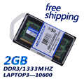Kembona 좋은 가격 원래 칩 노트북 노트북 ddr3 2 gb pc10600 1333 mhz ddr ram 메모리 204pin 무료 배송